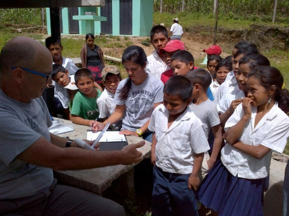Visiting the Pediatrician. Michelle in Honduras