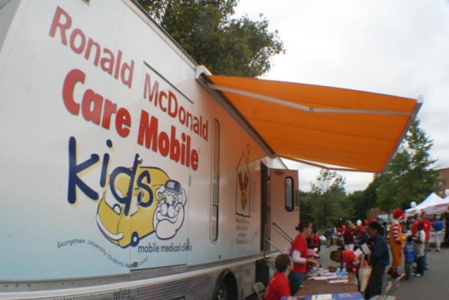 photo of Kids Care Mobile Van
